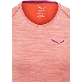SALEWA Pedroc Dry T-shirt Femme, hot coral